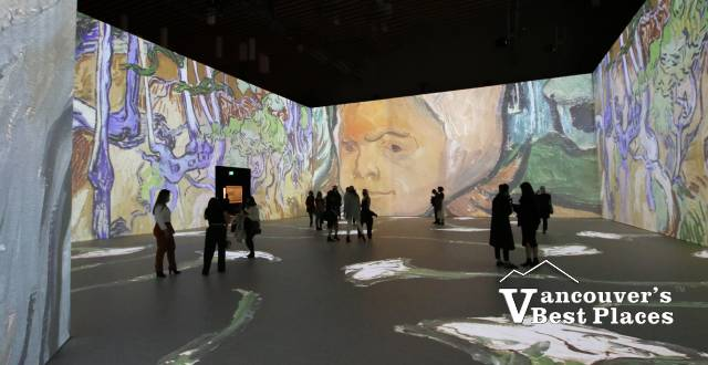 Van Gogh Painting Projections