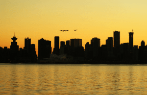 Vancouver Sunsets in February