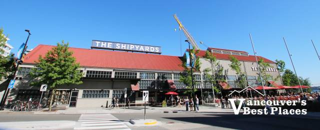 The Shipyards in Lower Lonsdale