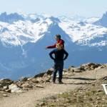Peak of Whistler in Summer