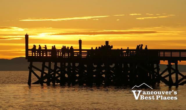 Sunset at Ambleside Pier