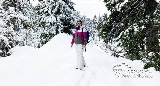 Snowshoeing the Light Walk Trail