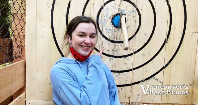 WildPlay Axe Throwing Bullseye