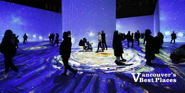 Scenes from Van Gogh's Starry Night