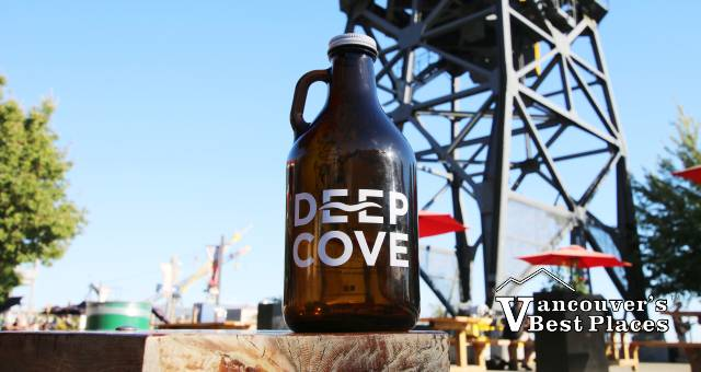 Deep Cove Beer at Shipbuilders' Square