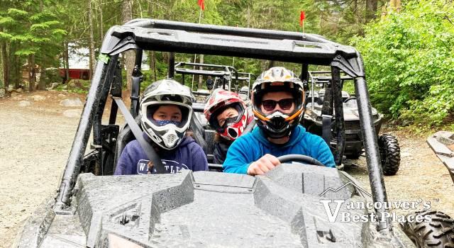 RZR Tours in Whistler