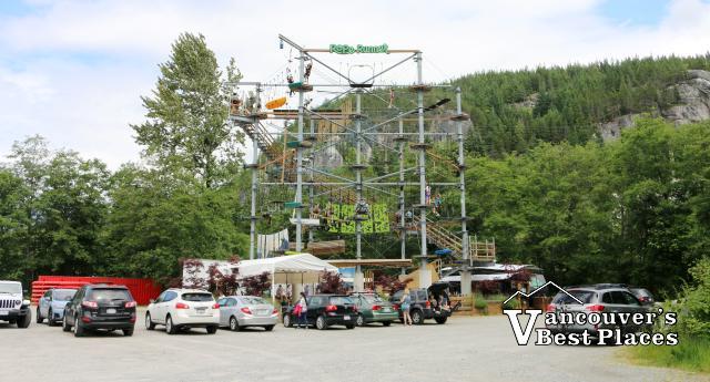 Rope Runner Venue in Squamish