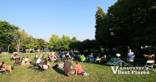 Music at Mt. Pleasant Park