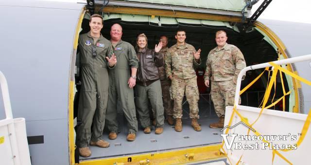 US Military at Abbotsford Airport
