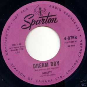 Annette - 374AX - Dream Boy 45 (Sparton 4-976R).jpg