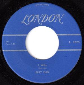Billy Fury - I Will 45 (London Canada).jpg