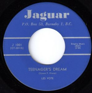 Teenager's Dream by Les Vogt