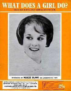 What Does A Girl Do by Marcie Blane