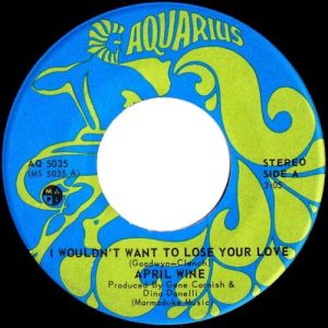 April Wine - I Wouldn't Want To Lose Your Love 45 (Aquarius Canada).jpg
