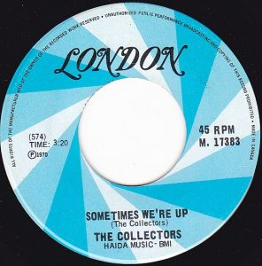 Sometimes We're Up by The Collectors