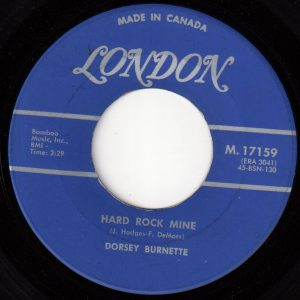 Hard Rock Mine by Dorsey Burnette