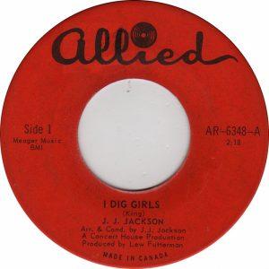 I Dig Girls by J.J. Jackson