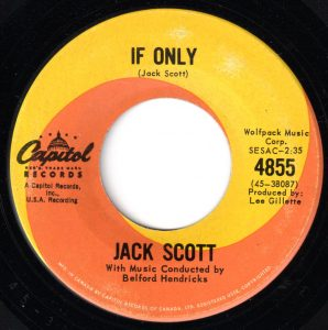 If Only by Jack Scott