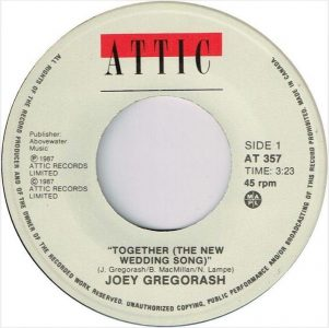 Together (The New Wedding Song) by Joey Gregorash