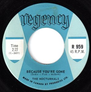 Nocturnals - Because You're Gone 45 (Regency).jpg