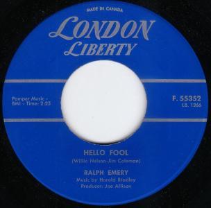 Ralph Emery - Hello Fool (London Liberty Canada).jpg