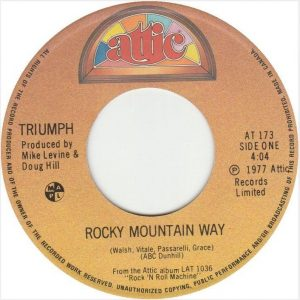 Rocky Mountain Way by Triumph