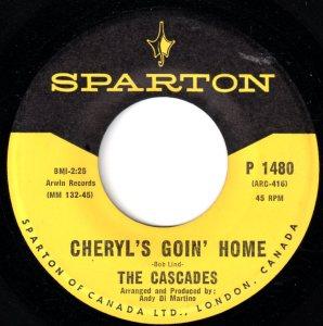 Cheryl's Goin' Home by The Cascades