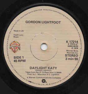 Daylight Katy by Gordon Lightfoot