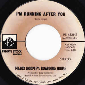 I'm Running After You by Major Hoople's Boarding House