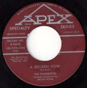 A Broken Vow by The Chordettes