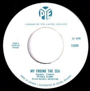 Petula Clark - My Friend The Sea 45