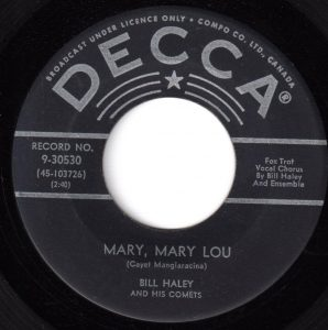 Mary, Mary Lou by Bill Haley