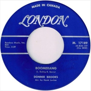Boomerang by Donnie Brooks
