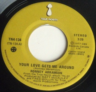Your Love Gets Me Around by Ronney Abramson