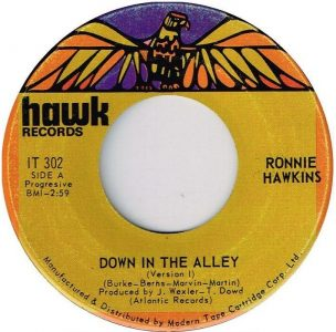 Down In The Alley by Ronnie Hawkins