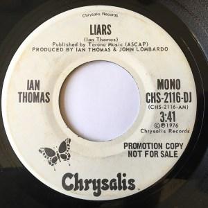 Liars by Ian Thomas