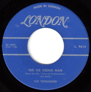 The Ice Cream Man by The Tornados