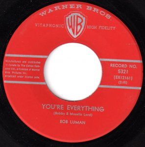 You're Everything by Bob Luman