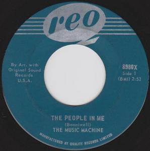 Music Machine - The People In Me 45 (Reo)
