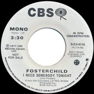 I Need Somebody Tonight by Fosterchild