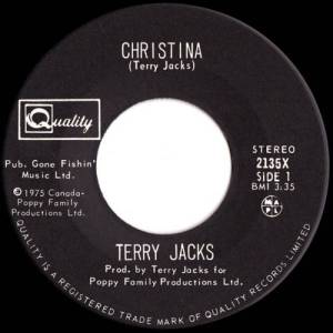 Christina by Terry Jacks
