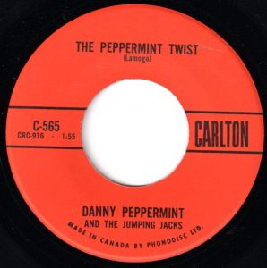 The Peppermint Twist by Danny Peppermint And The Jumping Jacks