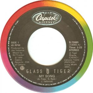 My Song by Glass Tiger