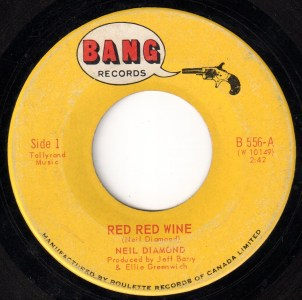 Red Red Wine by Neil Diamond