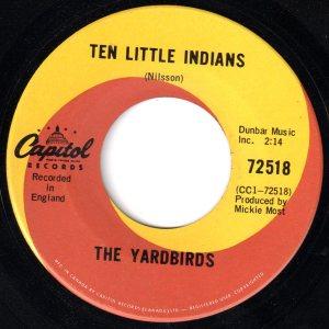 Ten Little Indians by The Yardbirds