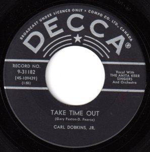 Take Time Out by Carl Dobkins Jr.