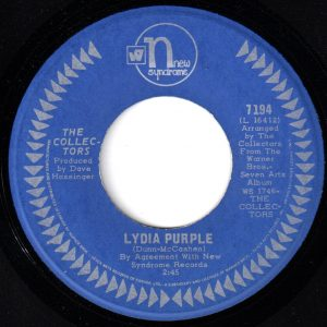 Lydia Purple by The Collectors
