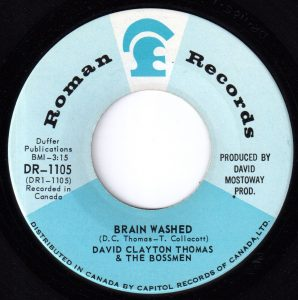 Brain Washed by David Clayton-Thomas & The Bossmen