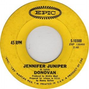 Jennifer Juniper by Donovan