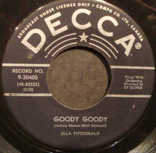 Goody Goody by Ella Fitzgerald
